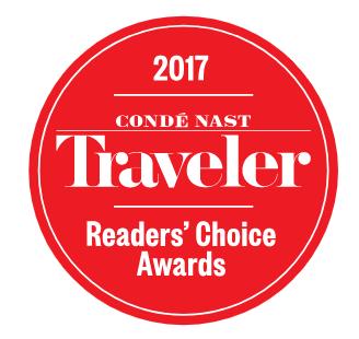 Conde Nast Traveler 2017