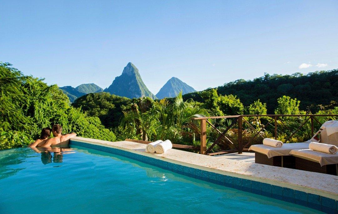 Casuarina Piton Pool Suite At Anse Chastanet Resort