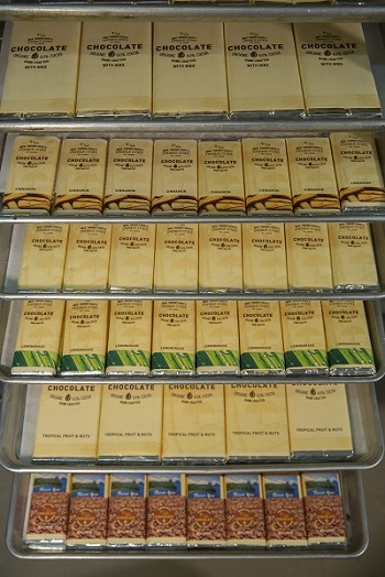Chocolate Bars Packaged