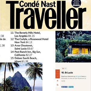 Conde Nast Traveller 2017
