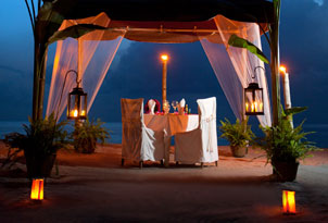 Private Dining at Anse Chastanet