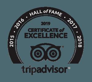 TripAdvisor Hall of Fame